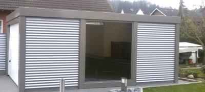 Hochwertige Acrylglasplatten für Stahlcarports